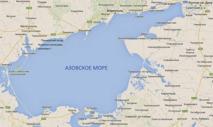 Крым может добывать пресную воду из под Азовского моря