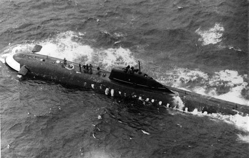 К-8 советская атомная подлодка с трагической судьбой
