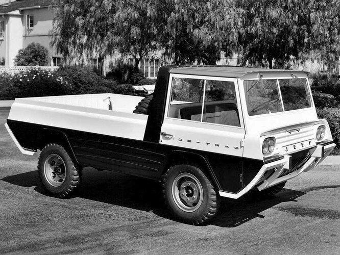Легендарный Jeep 10 необычных автомобилей (9 фото)