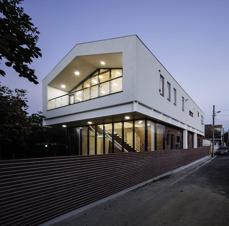 Оригинальный дом в Южной Корее