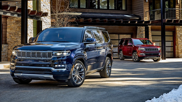 Возвращение короля  Jeep представил огромный роскошный внедорожник