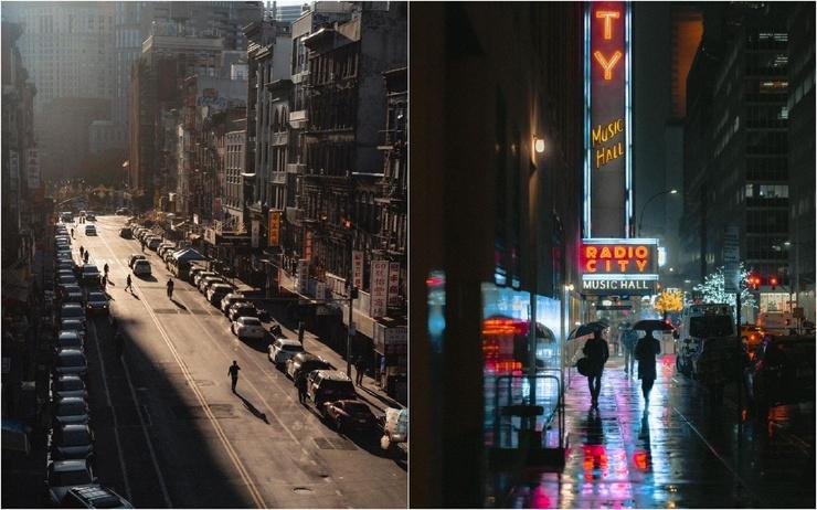 Нью-Йорк на кинематографичных снимках Николаса Миллера (25 фото)