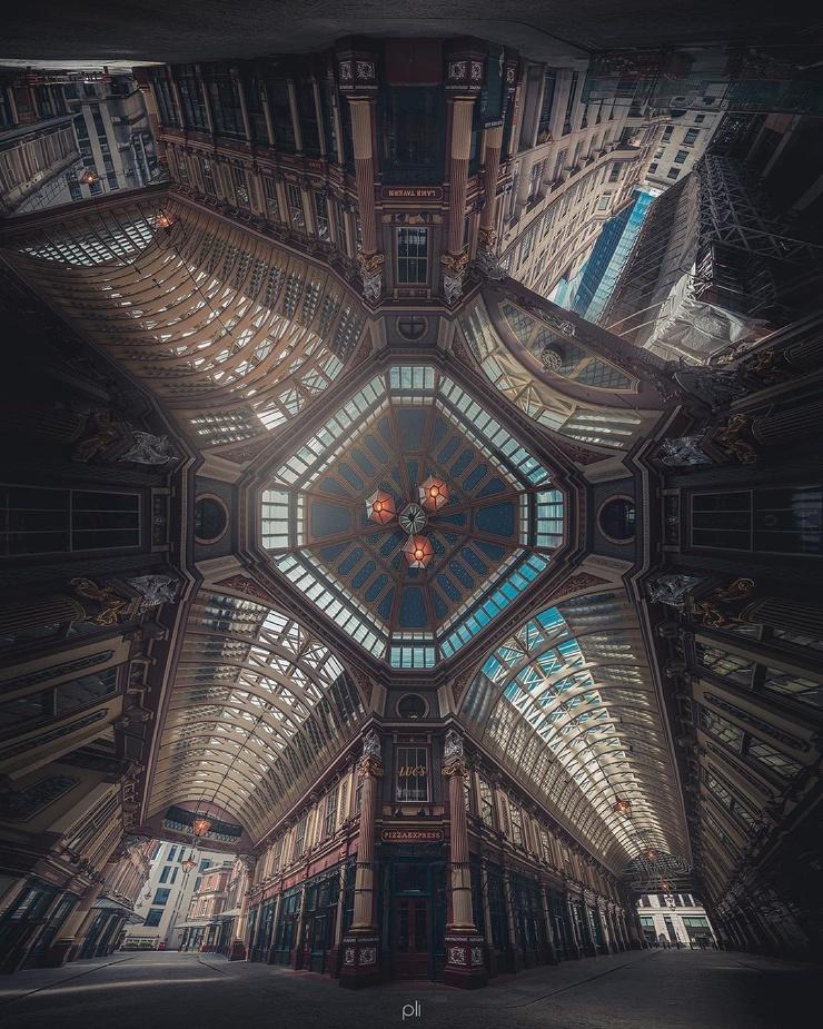 Замечательные архитектурные панорамы Питера Ли (24 фото)