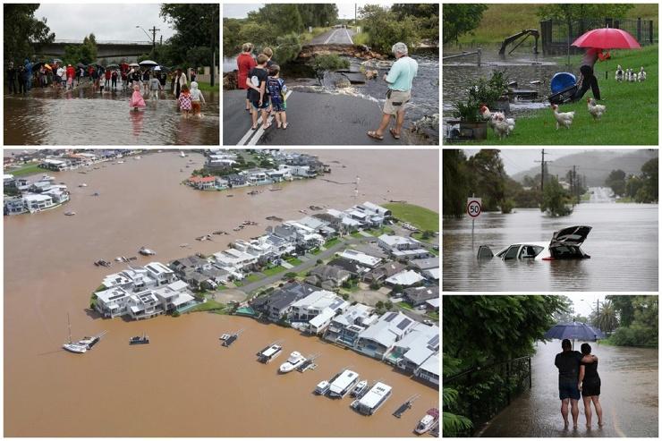 Сильнейшее за последние 50 лет наводнение в Австралии