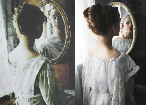 Заключенные нижегородской колонии для женщин устроили флешмоб. Они воссоздали на фото известные картины