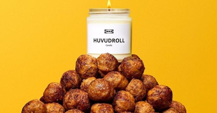 IKEA выпустили свечи с ароматом фирменных фрикаделек