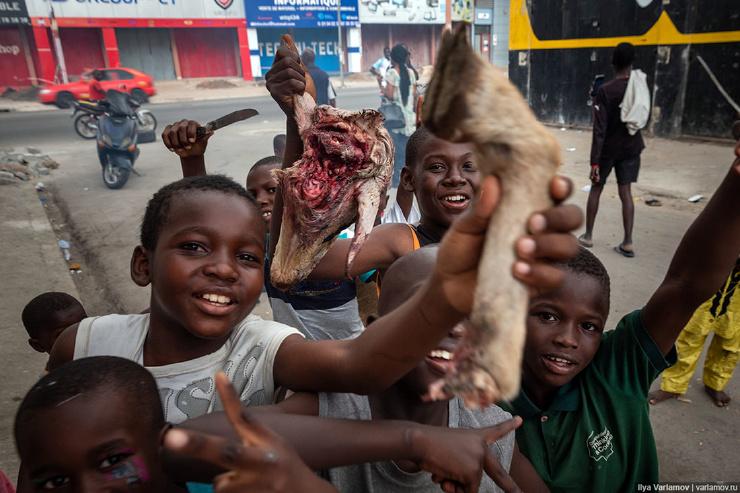 Кот-дИвуар в Африке тоже есть свой Нью-Йорк фото  видео
