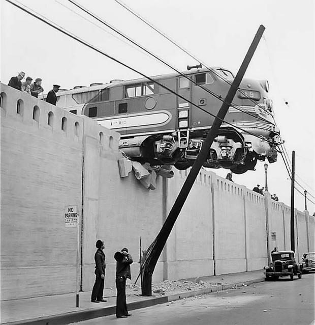 История одной фотографии авария поезда Эль-Капитан
