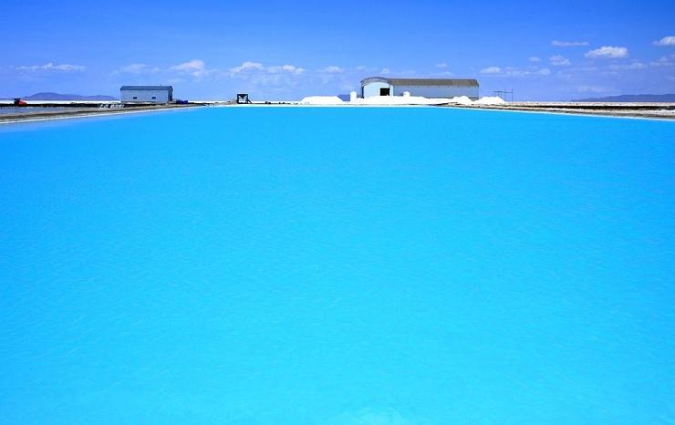 Странная красота соляных шахт ( фото)