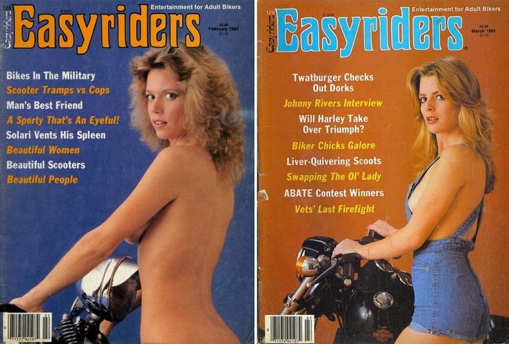 Мотоциклы, девушки и пиво горячие обложки байкерских журналов 1980-х годов
