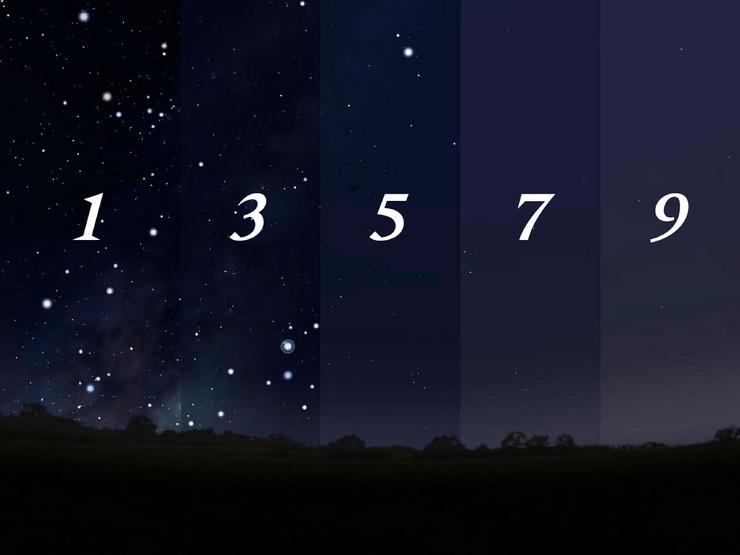 Девять степеней темноты