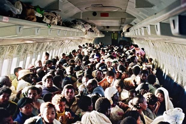 История одной фотографии максимальное количеству пассажиров в самолете, май 1991 года