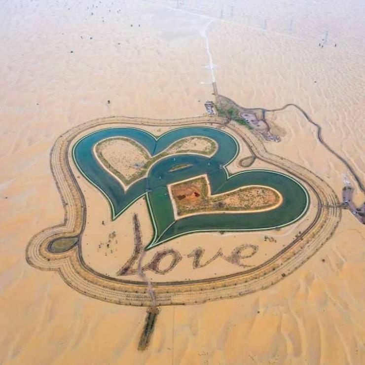 Дубайское озеро Любви