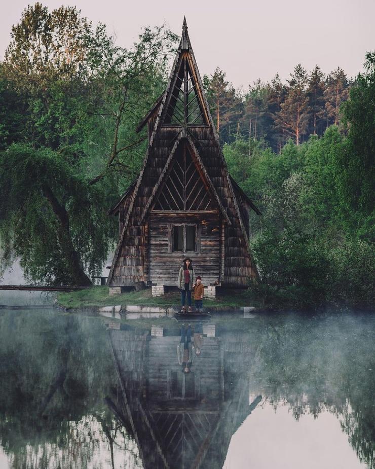 Замечательные снимки из путешествий Александра Ладанивского