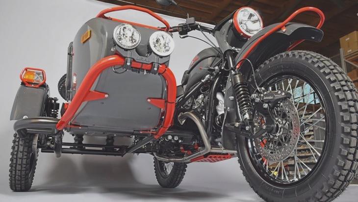 Новый Урал как сегодня выглядит легендарный мотоцикл с коляской (видео)