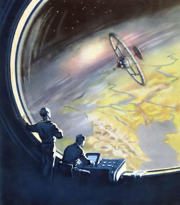 Конспиративные теории прошлого инопланетный шпионский спутник Черный принц