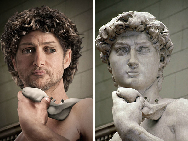 Как выглядели бы в реальной жизни знаменитые статуи (10 фото)