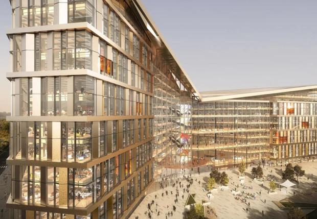 Яндекс показал проект нового московского офиса, и он не хуже кампусов мировых корпораций (фото)