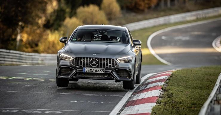 Mercedes-Benz отнял у Porsche рекорд на Нордшляйфе (видео)
