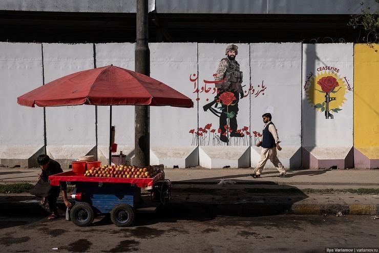 Кабул в ожидании талибов трущобы, бараны и наркоманы  фото