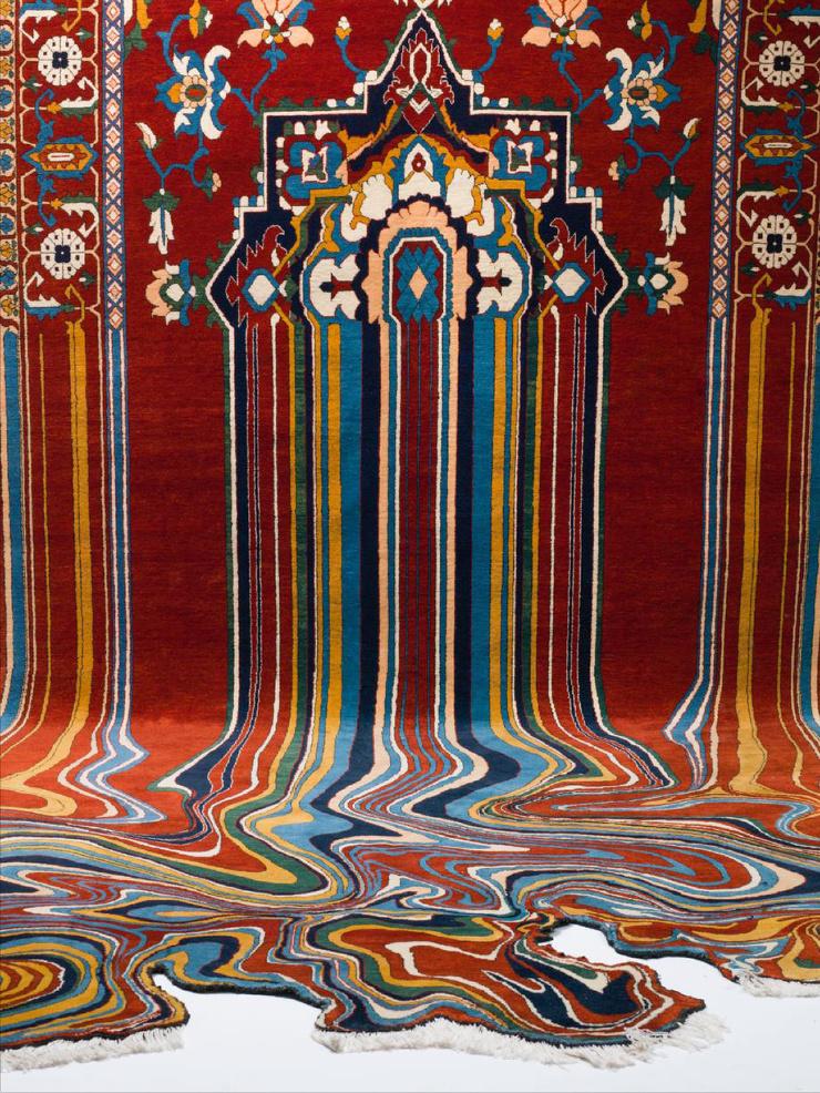 Волшебные ковры Фаига Ахмеда традиции с элементами сюрра  фото  видео