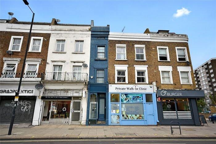 Самый узкий дом в Лондоне продаётся за 1,3 миллиона (11 фото)