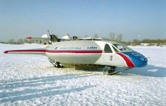 Безаэродромный самолет Бэлла-1