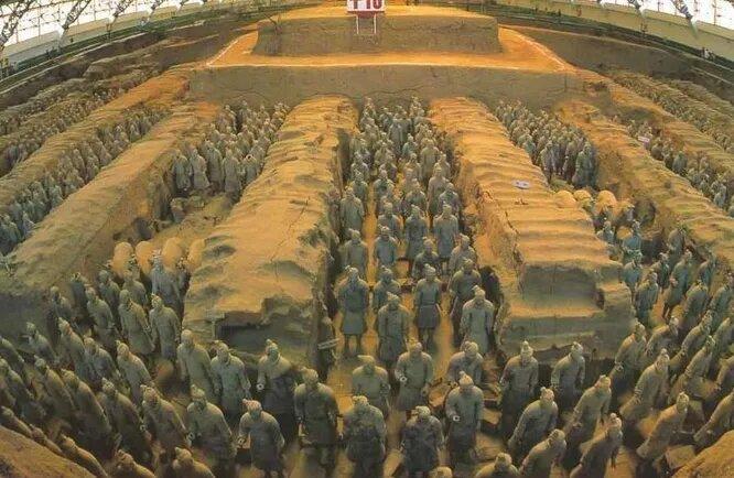 7 интересных фактов о терракотовой армии (7 фото)