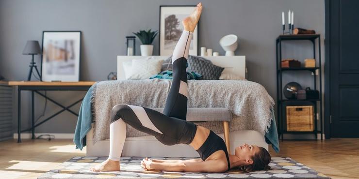 Тренировка дня 7 шикарных упражнений для крепких ног и ягодиц