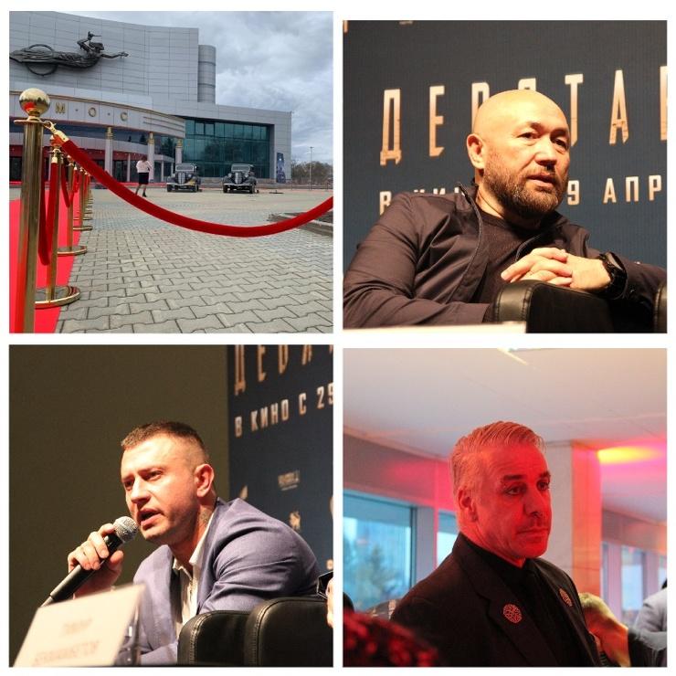 Девятаев, Бекмамбетов, Прилучный и Линдеманн в Екатеринбурге как это было