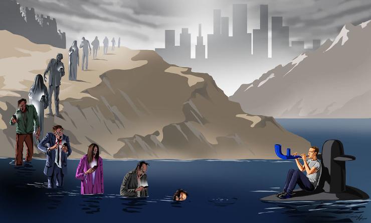 11 жестких карикатур Гюндуза Агаева