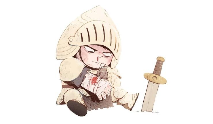 Милые демоны и бесстрашные рыцари арт Джонатана Кантеро