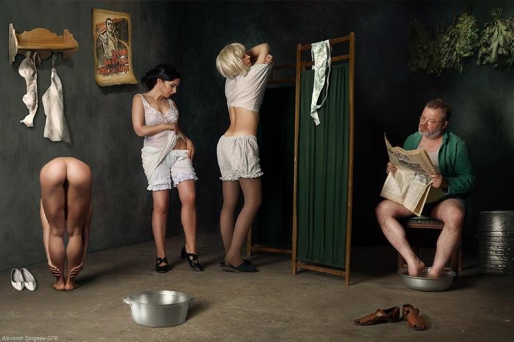 Снимки в жанре Ню Александра Сергеева (34 фото)