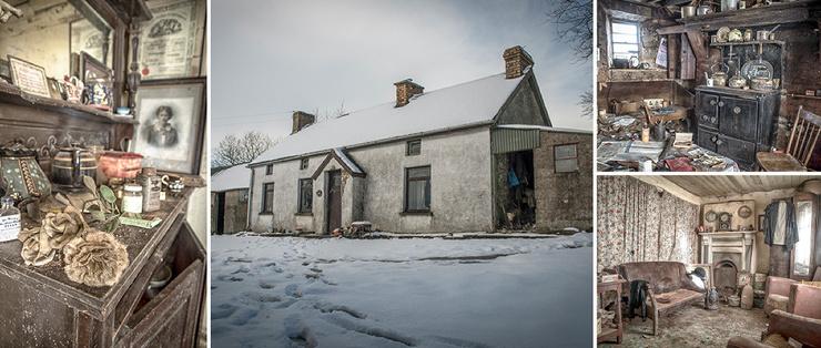 Дом, который застыл во времени заброшенный фермерский коттедж в Северной Ирландии