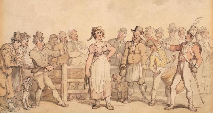 Альтернатива разводу как в Англии XIX века мужчины продавали жен на рынках и в тавернах