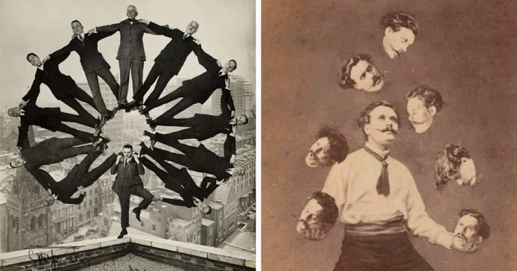 16 удивительных ретро-фотографий, авторы которых баловались фотошопом ещё задолго до его появления