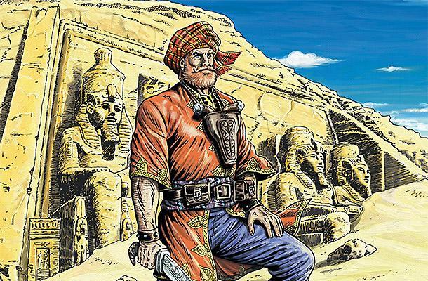 Индиана Джонс XIX века, или Приключения Джованни, расхитителя гробниц (12 фото)