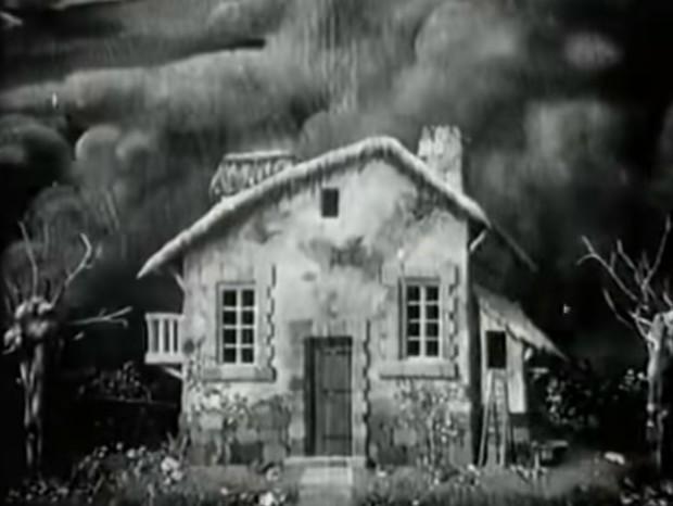 6-минутный фильм ужасов 1908 года с продвинутыми спецэффектами (видео)