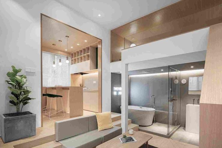 Квартира площадью 25 кв. метров в Шанхае  фото