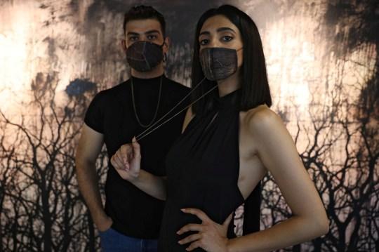 Шеф-повар создал маску из баклажана