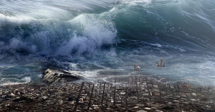 Почему перед ударом цунами вода отступает от берегов?