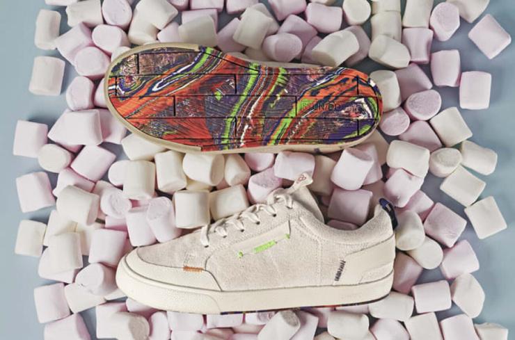 Португальский бренд создал кроссовки с подошвой из переработанных воздушных шаров