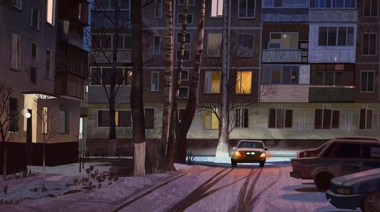 Городские зарисовки и теплые пейзажи Кэй Кан (26 фото)