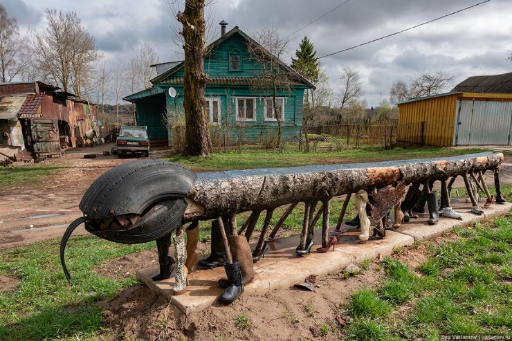 Есть ещё гении в русской деревне! (12 фото)