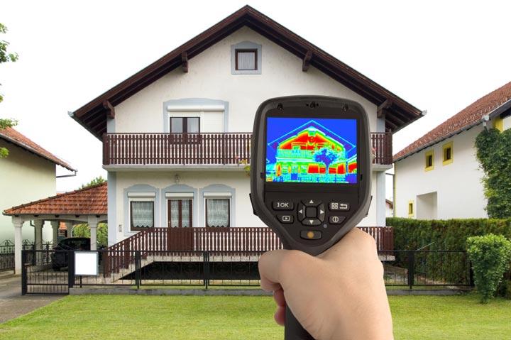 Тепловизионное обследование домов, квартир и коттеджей в Екатеринбурге и Свердловской области