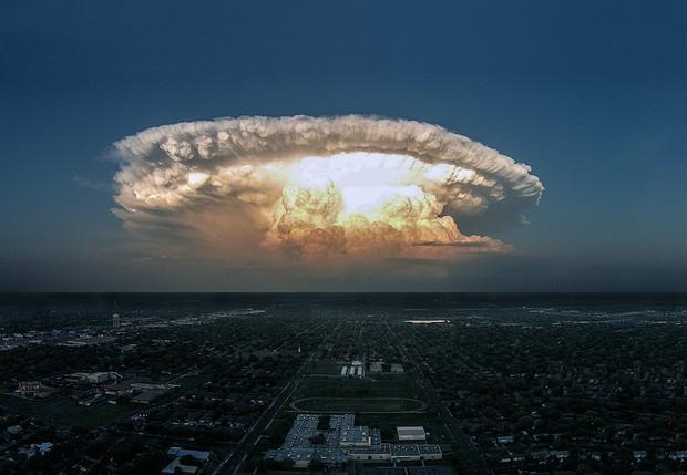 Мирный атомный взрыв и еще 6 сногсшибательных пейзажей! (6 фото)