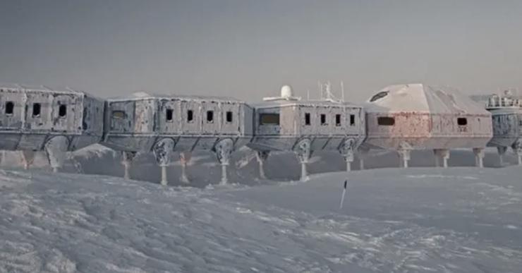 Станция-призрак как брошенная база в Антарктике продолжает работу