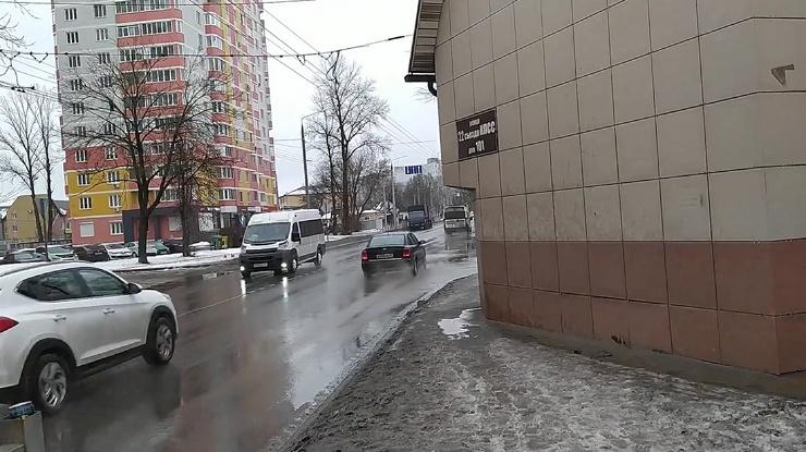 Самый стрёмный тротуар в России (7 фото)