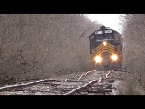Худшая железная дорога в мире нет, это не Россия (видео)