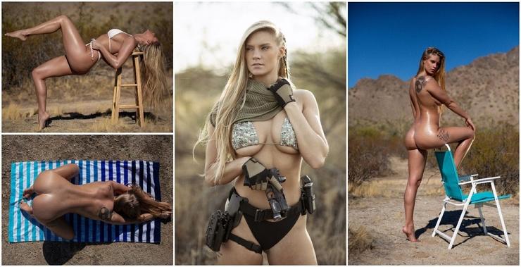 Горячая американская военнослужащая Криста Шипман (30 фото)